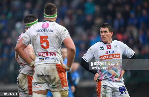 Treviso , Italy - 18 January 2020; Ian Keatley of Benetton during the Heineken Champions Cup Pool 1 Round 6 match between Benetton and Leinster at...