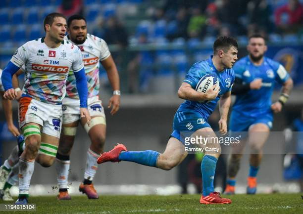 Treviso Italy 18 January 2020 Luke McGrath of Leinster during the Heineken Champions Cup Pool 1 Round 6 match between Benetton and Leinster at the...