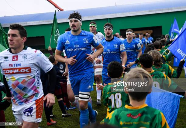 Treviso Italy 18 January 2020 Max Deegan of Leinster ahead of the Heineken Champions Cup Pool 1 Round 6 match between Benetton and Leinster at the...