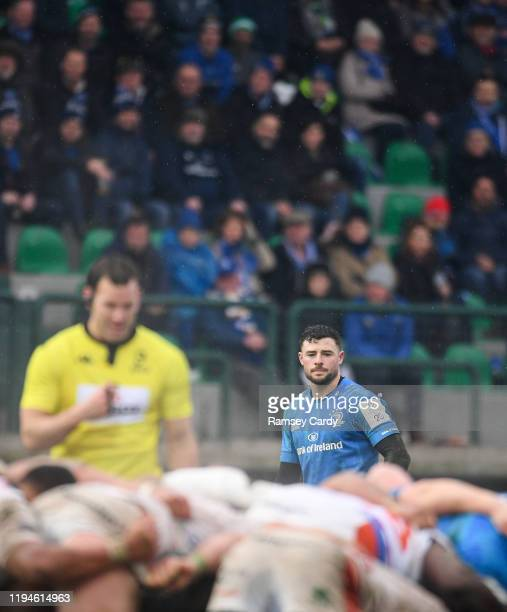 Treviso Italy 18 January 2020 Robbie Henshaw of Leinster during the Heineken Champions Cup Pool 1 Round 6 match between Benetton and Leinster at the...