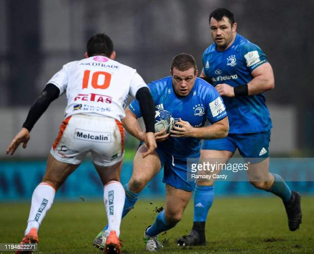 Treviso Italy 18 January 2020 Seán Cronin of Leinster during the Heineken Champions Cup Pool 1 Round 6 match between Benetton and Leinster at the...
