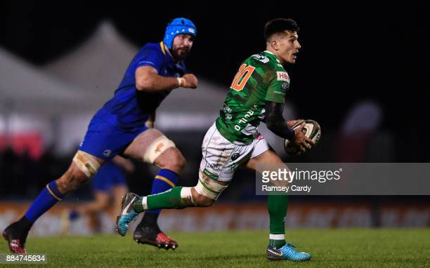 Treviso Italy 2 December 2017 Tommaso Allan of Benetton during the Guinness PRO14 Round 10 match between Benetton and Leinster at the Stadio Comunale...