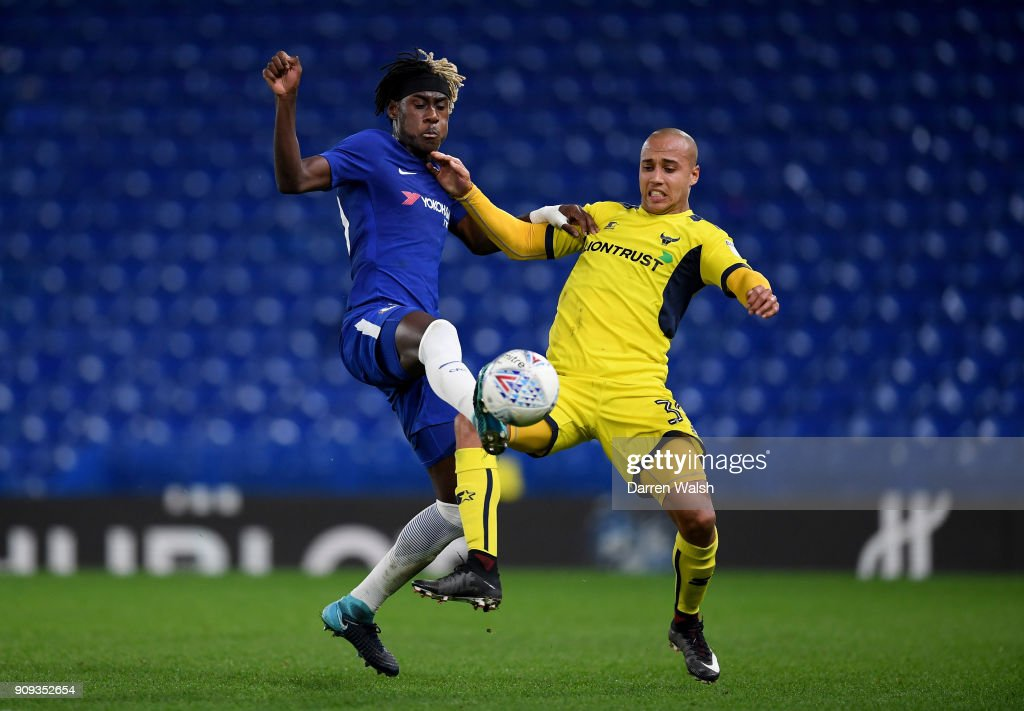 Chelsea U21 v Oxford United - Checkatrade Trophy