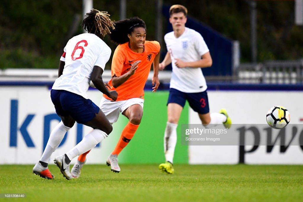 Holland U20 v England U20