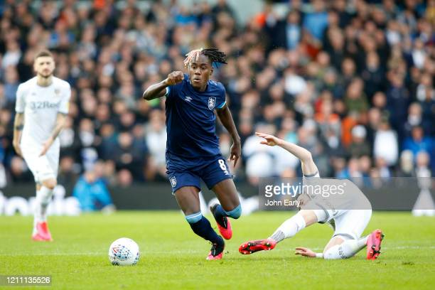 Trevoh Chalobah of Huddersfield Town during the Sky Bet Championship match between Leeds United and Huddersfield Town at Elland Road on March 07 2020...