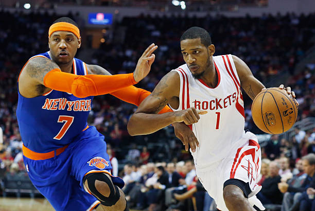 New York Knicks v Houston Rockets