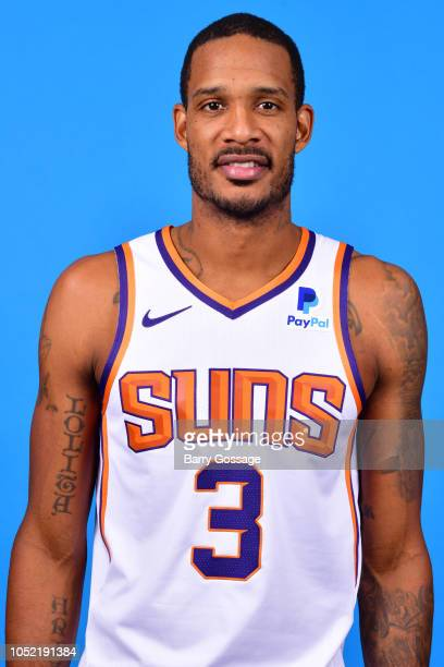 Trevor Ariza of the Phoenix Suns poses for a head shot on October 5 at Talking Stick Resort Arena in Phoenix Arizona NOTE TO USER User expressly...