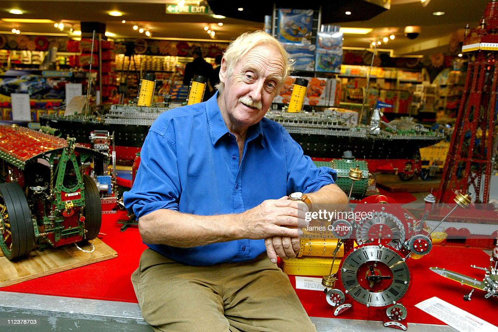 Trevor Baylis Launches London's Largest Meccano Display at Harrods - October 6,
