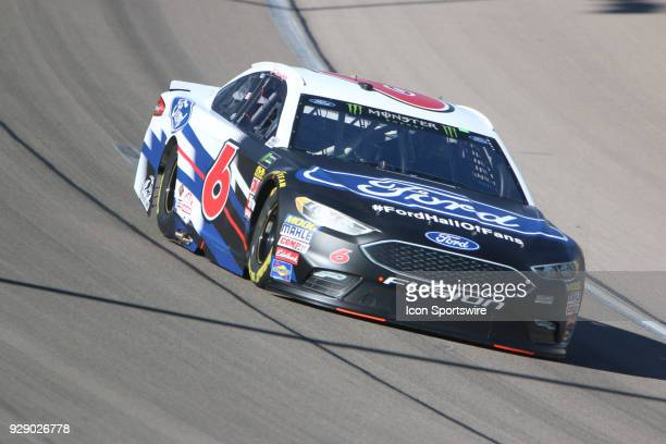 Trevor Bayne Roush Fenway Racing Ford Fusion during practice for the Pennzoil 400 Friday March 2 at Las Vegas Motor Speedway in Las Vegas Nevada in...