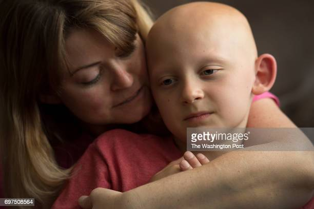 Trevor Beckermann age 7 with his mother Meagan live near the West Lake Landfill in the greater St Louis MO on June 1 2017 West Lake was an unlined...