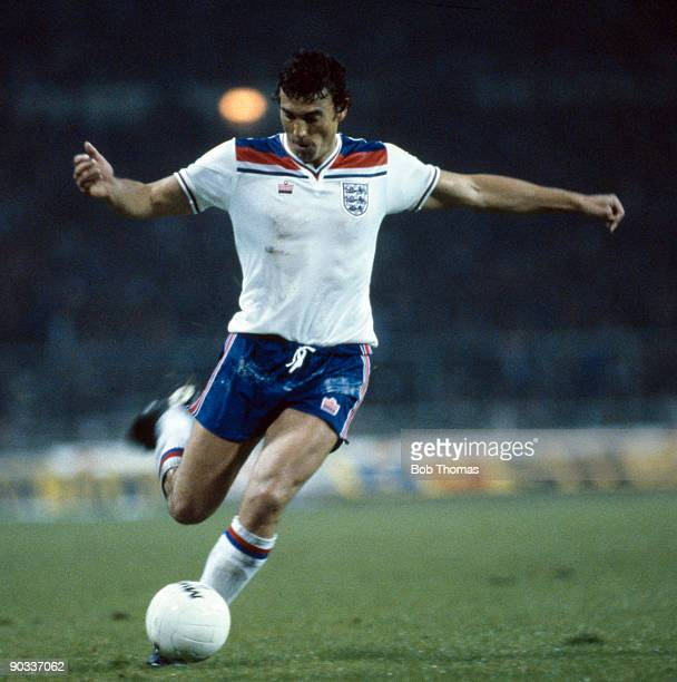 Trevor Brooking of England during a match at Wembley Stadium circa 1970's