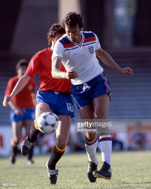 Trevor Brooking of England during the England v Spain European Championship finals held at Stadio San Paolo in Naples Italy on the 18th June 1980...