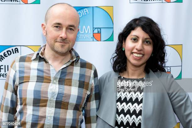 Trevor Clayton and Amen Jafri attend the 9th Annual New Media Film Festival at James Bridges Theater on June 16 2018 in Los Angeles California
