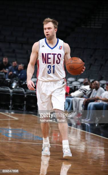 Trevor Cooney during an NBA DLeague game between the Salt Lake City Stars and the Long Island Nets on March 21 2017 at Barclays Center in Brooklyn NY...