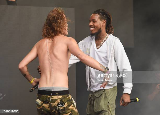 Trevor Dahl of Cheat Codes and Fetty Wap perform onstage during Day 1 of Billboard Hot 100 Festival 2018 at Northwell Health at Jones Beach Theater...