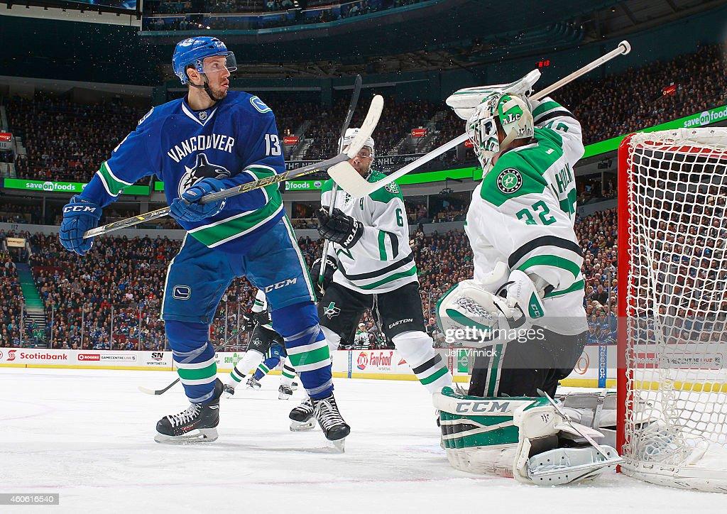 Dallas Stars v Vancouver Canucks : News Photo