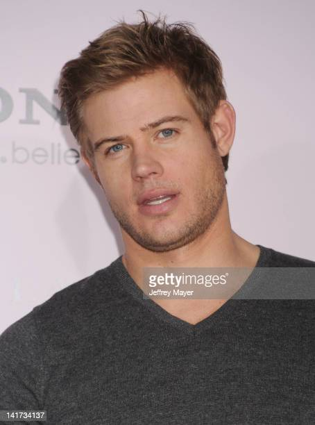 Trevor Donovan arrives at The Vow Los Angeles Premiere at Grauman's Chinese Theatre on February 6 2012 in Hollywood California