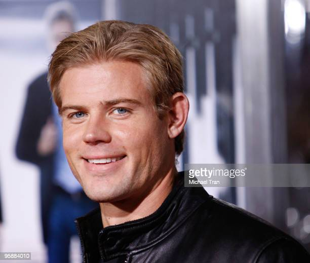 Trevor Donovan arrives to the Los Angeles premiere of Extraordinary Measures held at Grauman's Chinese Theatre on January 19 2010 in Hollywood...