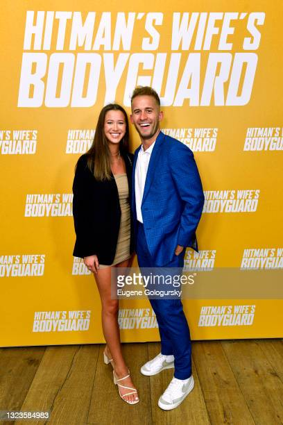 """Trevor Franklin attends the """"Hitman's Wife's Bodyguard"""" special screening at Crosby Street Hotel on June 14, 2021 in New York City."""