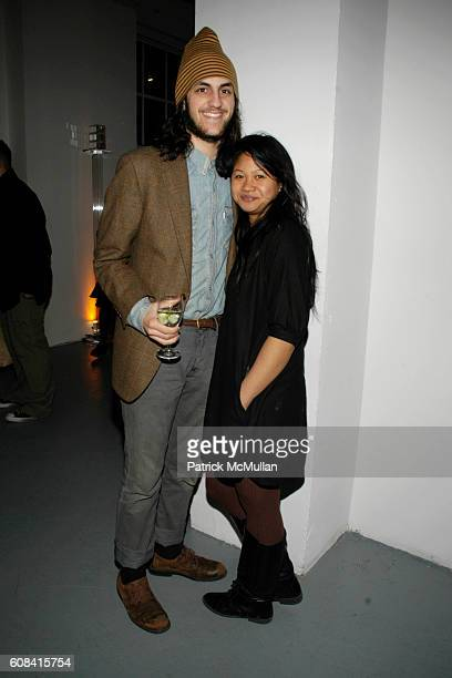 Trevor Giuliani and Janessa Bautista attend CFDA Awards Nominee Announcement Cocktail Party Hosted by SWAROVSKI at Top of the Rock on March 12 2007...