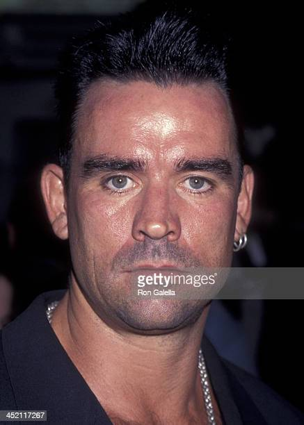 """Trevor Goddard attends the world premiere of """"Mortal Kombat"""" on August 16, 1995 at Mann Chinese Theater in Hollywood, California."""