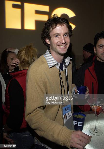 Trevor Groth during 2004 Sundance Film Festival IFCTarget Party at River Horse in Park City Utah United States