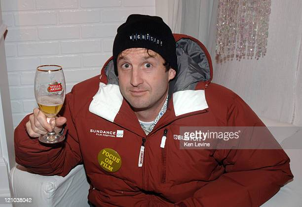 Trevor Groth Program Director for Sundance during 2007 Sundance Film Festival International Filmmakers Party Inside at Stella Artois Patio in Park...