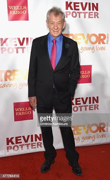Trevor Hero Award recipient Sir Ian McKellen attends TrevorLIVE New York honoring Sir Ian McKellen Representative Ryan Fecteau and Johnson Johnson...