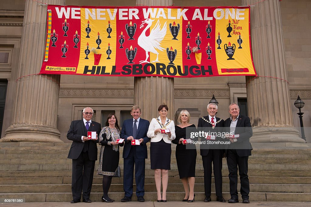 The 96 Hillsborough Victims Receive The Freedom Of The City Of Liverpool