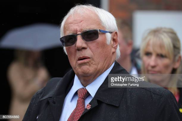 Trevor Hicks reacts after the families of the 96 Hillsborough victims were told the decision that the Crown Prosecution Service will proceed with...