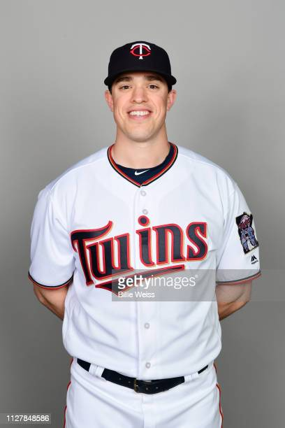 Trevor Hildenberger of the Minnesota Twins poses during Photo Day on Friday February 22 2019 at CenturyLink Sports Complex in Fort Myers Florida