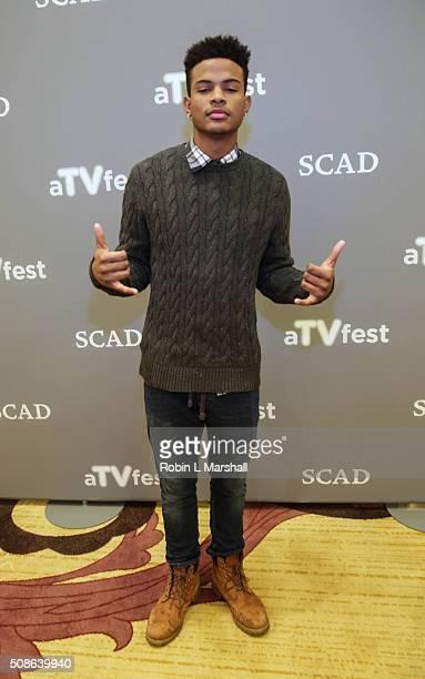 Trevor Jackson attends 4th Annual aTVfest on February 5 2016 in Atlanta Georgia