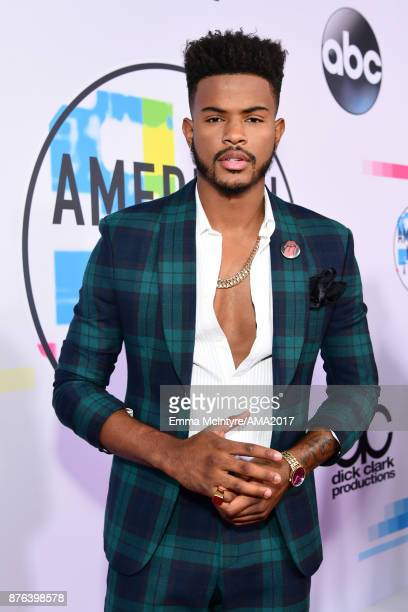 Trevor Jackson attends the 2017 American Music Awards at Microsoft Theater on November 19 2017 in Los Angeles California