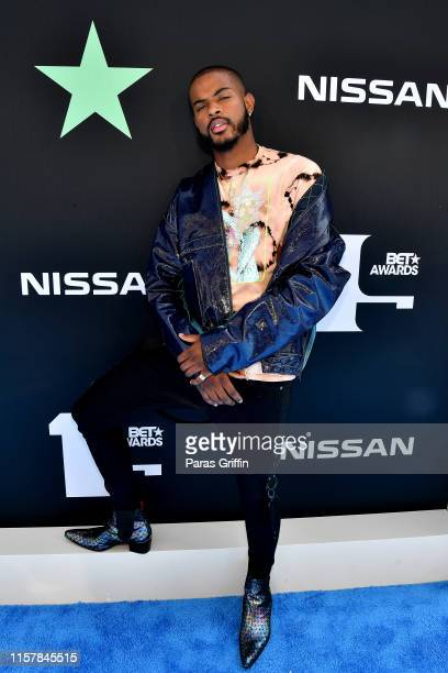 Trevor Jackson attends the 2019 BET Awards at Microsoft Theater on June 23 2019 in Los Angeles California
