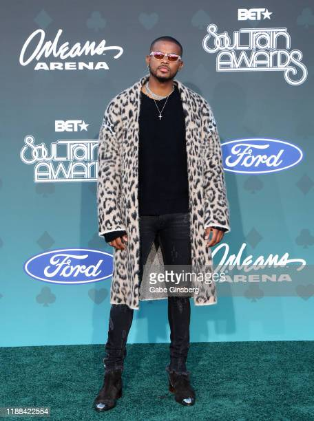 Trevor Jackson attends the 2019 Soul Train Awards at the Orleans Arena on November 17 2019 in Las Vegas Nevada