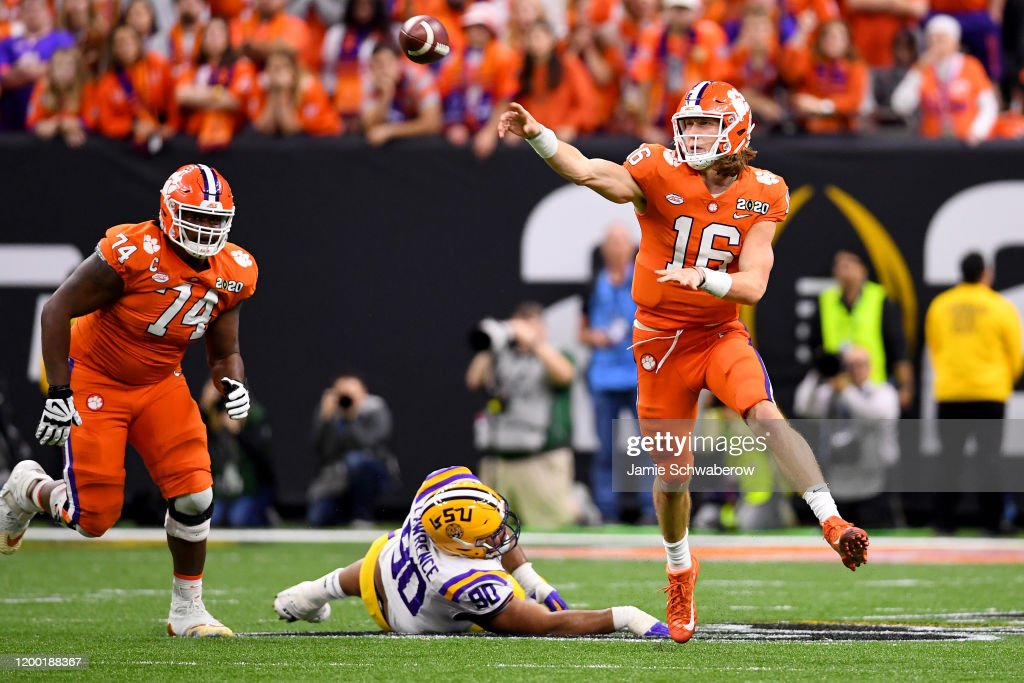 College Football Playoff National Championship - Clemson v LSU : News Photo