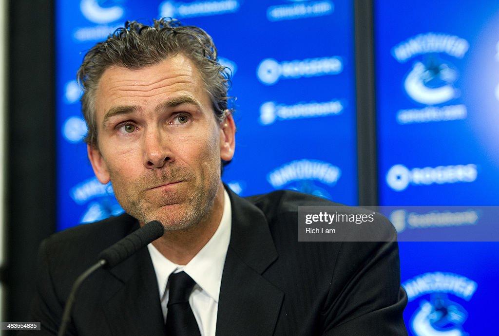 Vancouver Canucks Announce Trevor Linden As President Hockey Operations : News Photo