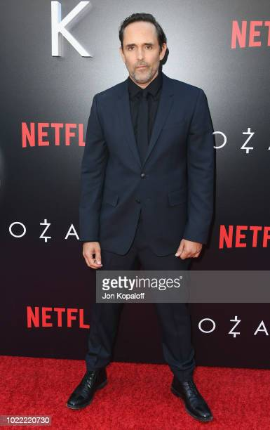 """Trevor Long attends the premiere of Netflix's """"Ozark"""" Season 2 at ArcLight Cinemas on August 23, 2018 in Hollywood, California."""