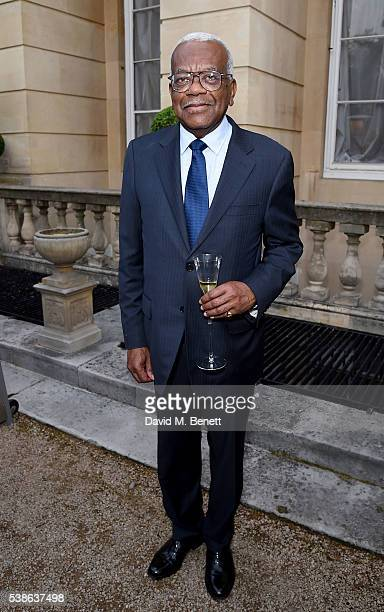 Trevor McDonald attends The Bell Pottinger Summer Party at Lancaster House on June 7 2016 in London England