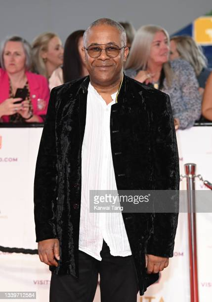 Trevor Michael Georges attends the National Television Awards 2021 at The O2 Arena on September 09, 2021 in London, England.