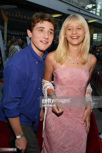 """Trevor Morgan and Carly Schroeder during """"Mean Creek"""" Los Angeles Premiere - Red Carpet at ArcLight Cinemas in Hollywood, California, United States."""