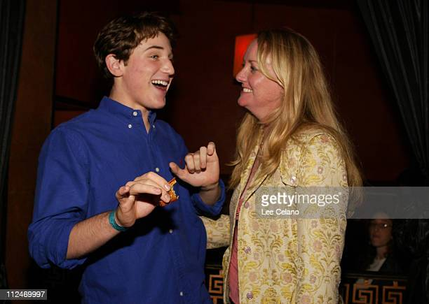 """Trevor Morgan and Susan Johnson, producer during """"Mean Creek"""" Los Angeles Premiere - After-Party at ArcLight Cinemas in Hollywood, California, United..."""