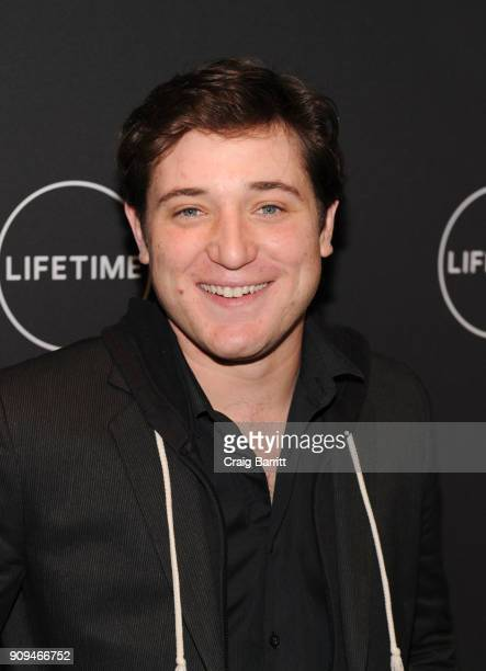"""Trevor Morgan attends Lifetime""""s Film,""""Faith Under Fire: The Antoinette Tuff Story"""" red carpet screening and premiere event at NeueHouse Madison..."""