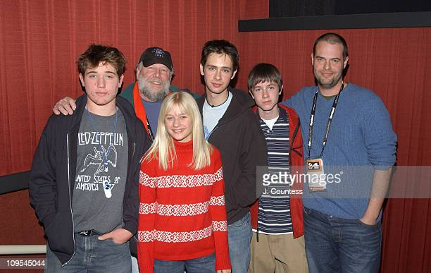 "Trevor Morgan, Rick Rosenthal, Scott Mechlowicz, Carly Schroeder, Ryan Kelley and Jacob Aaron Estes, writer/director of ""Mean Creek"""