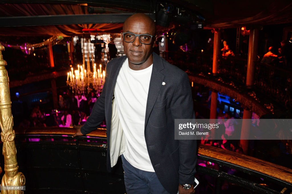 Trevor Nelson attends a special screening of 'The Bobby Brown Story' at Cafe de Paris on September 10, 2018 in London, England.