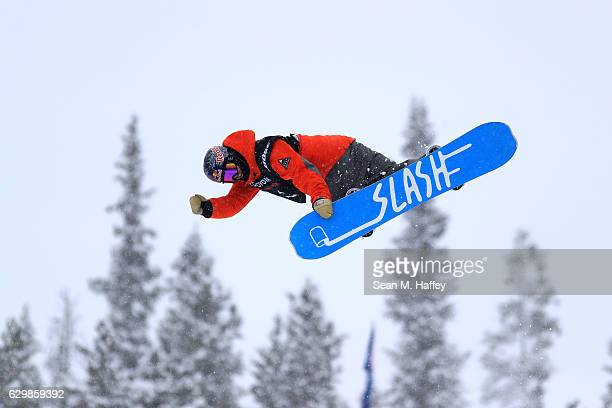 Trevor Niblett of Canada competes in the qualifying round for the 2017 US Snowboarding Grand Prix at Copper Mountain on December 14 2016 in Copper...