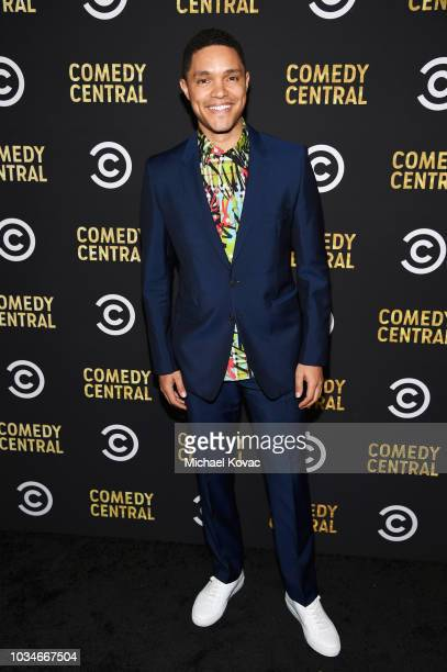 Trevor Noah attends Comedy Central's Emmys Party at The Highlight Room at the Dream Hotel on September 16 2018 in Hollywood California
