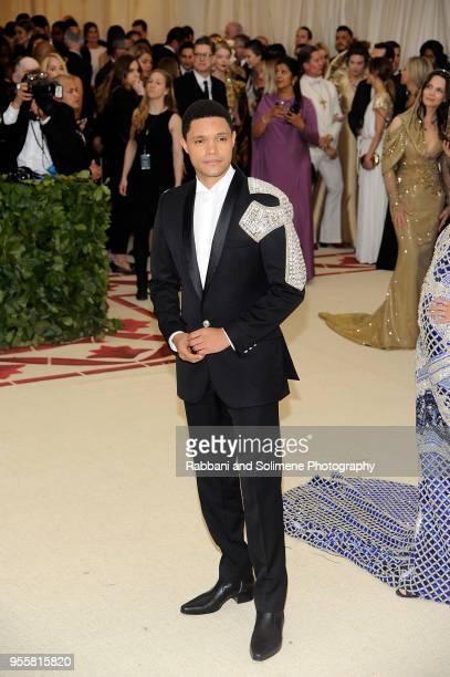 Trevor Noah attends Heavenly Bodies Fashion The Catholic Imagination Costume Institute Gala a the Metropolitan Museum of Art in New York City