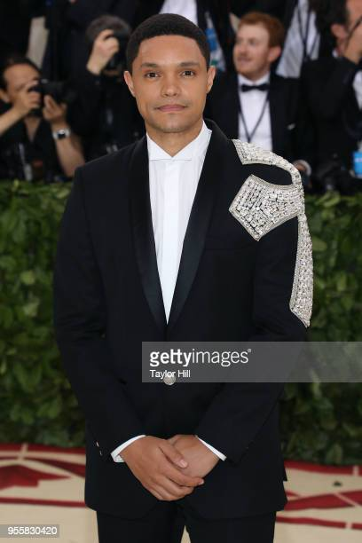 Trevor Noah attends 'Heavenly Bodies Fashion the Catholic Imagination' the 2018 Costume Institute Benefit at Metropolitan Museum of Art on May 7 2018...