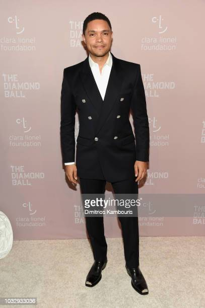 Trevor Noah attends Rihanna's 4th Annual Diamond Ball benefitting The Clara Lionel Foundation at Cipriani Wall Street on September 13 2018 in New...